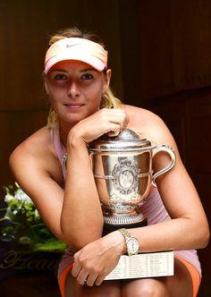 2014 French Open Champion; Maria Sharapova #WTA #Sharapova #RolandGarros
