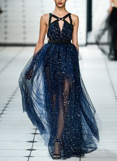 Very close to how I pictured Levana's dress at the ball. Galaxy Gown / Jason Wu Spring 2013