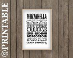 cheese print food