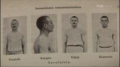 Finnish racial qualities: People from Savolax.