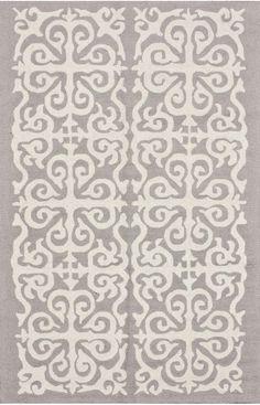 $5 Off when you share! Homespun Damask Trellis Enchant Rug | Contemporary Rugs #RugsUSA