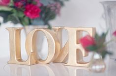 LOVE letters to inspire the day! Photography by Craig & Eva Sanders