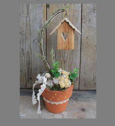 Napsugár - asztaldísz (tartós virágdísz), Dekoráció, Otthon, lakberendezés, Meska