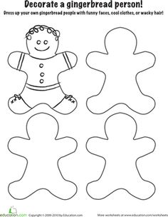 ... gingerbread coloring page more worksheets gingerbread gingerbread