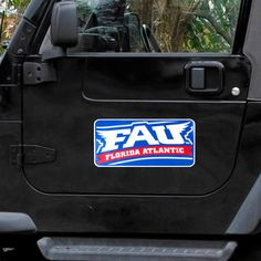 "FAU Owls 8"" x 16"" Car Magnet - $11.99"