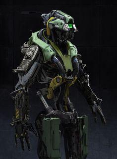 Official UT4 Robot Faction