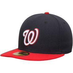 46b2fa9e90e Washington Nationals New Era Authentic Collection On-Field 59FIFTY  Alternate Fitted Hat - Navy
