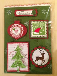 """Heikes Kreativseite: Card Candys zum Thema """" Weihnachten """" Boxed Christmas Cards, Christmas Paper, Christmas Candy, Scrapbooking, Scrapbook Layouts, Best Candy, Candy Cards, Scrapbook Embellishments, Stamping Up"""