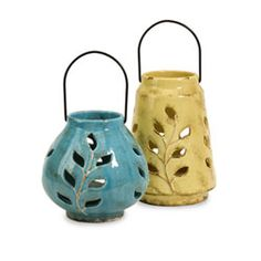 LoVe these Ceramic Lanterns