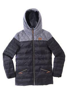 Discrete icon womens jacket