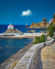 Andros Greece, Greece Travel, Greek Islands, Best Artist, Wonderful Places, Travel Photography, Mansions, House Styles, City