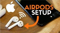 HOW TO SETUP APPLE AIRPODS! Best Wireless Headphones for iPhone! - YouTube
