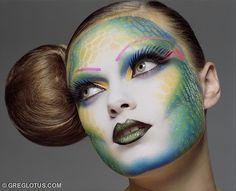 make up #colorful