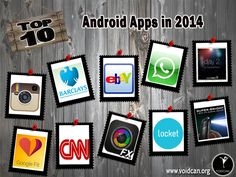 Voidcan.org brings you the list of top ten Android apps and all the information regarding apps which makes them best. List is researched by our android expert.