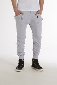 Double Zipper Drawstring Jogger - American Stitch - Denim + Pants : JackThreads