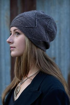 Sette Vele was one of the two patterns for our 10th annual mystery Hat-a-long. The Hat is started at the crown, where the intriguing pattern grows into seven distinct sections. Find this pattern at LoveKnitting.Com.