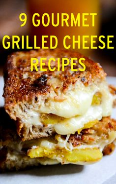 Gourmet grilled cheese sandwich recipes to warm up any rainy day