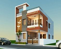 How to reduce construction cost in India? 7 Effective Tips To Reduce Construction Cost House Outer Design, House Balcony Design, House Front Wall Design, 3 Storey House Design, House Outside Design, Kerala House Design, Bungalow House Design, Modern Exterior House Designs, Narrow House Designs