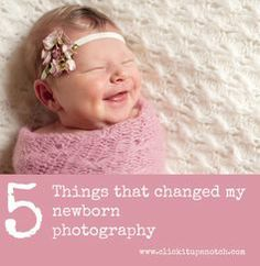 5 Things that changed my newborn photography by Lacey Meyers via Click it Up a Notch