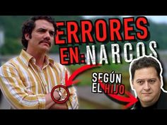 MISTAKES in the Narcos series (Netflix) according to the son of Pablo Escobar / Victor Lugo Pablo Emilio Escobar, Netflix, Youtube, Movies, Movie Posters, World, Eye, Life, Films
