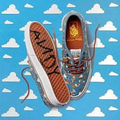 fb01084a81 Woody (Shoes by Vans)  ToyStory Disney Vans