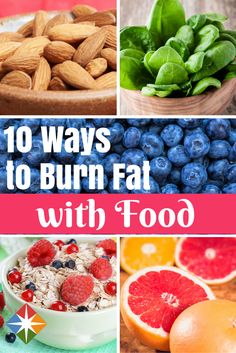 Supercharge Your Meals with Fat-Burning Foods. Try these fat-burning foods next time you reach for something to eat. | via @SparkPeople