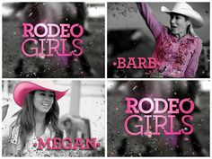 Rodeo Girls on A & E tv. Barb West is awsome. Rodeo Girls, Movies And Tv Shows, Movie Tv, Horse, Life, Horses