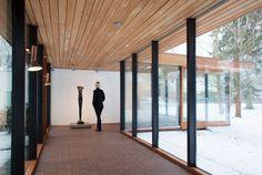 Vilhelm Wohlert & Jørgen Bo | Museo Louisiana de Arte Moderno | Humlebæk, Dinamarca | 1958 ( y ampiacuibes de 1976, 1982, 1992, 1998 y 2006) | Photos © Louisiana Museum archives