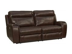 Home Solutions Brown Durablend Leather Power Home Theater