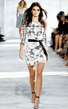 Kendall Jenner Stuns at New York Fashion Week as She Walks in Diane von Furstenberg's Runway Show