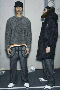 Givenchy Menswear FW 14 - Backstage