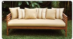 Outdoor daybeds for additional seating