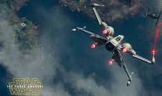star wars — X Wing Fighter