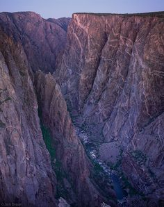 Painted Wall, North Rim of Black Canyon, Gunnison National Park, CO Copyright: Jack Brauer