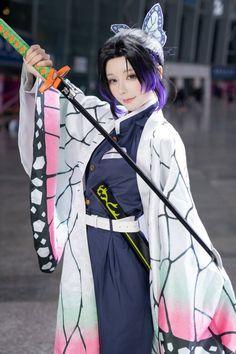 Kochou Shinobu cosplay in Demon Slayer💖 ~ ~ ~ Kawaii Cosplay, Cosplay Anime, Epic Cosplay, Cute Cosplay, Amazing Cosplay, Cosplay Outfits, Cosplay Characters, Anime Characters, Cosplay Lindo