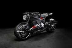 Extraordinary Lazareth Back To The Future Cafe Racer