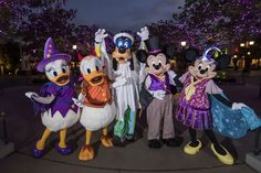 Scare up some hugs, snap pics and nab autographs from Disney pals decked out in the most divine disguises!