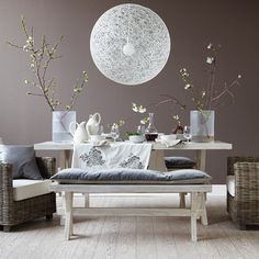 Learn how to decorate with Sherwin-Williams' 2017 Color Of The Year, Poised Taupe.
