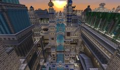 my Ancient City [WIP] forever - Screenshots - Show Your Creation - Minecraft Forum - Minecraft Forum Minecraft Building Designs, Minecraft City, Minecraft Construction, Minecraft Projects, Minecraft Stuff, Minecraft Buildings, Minecraft Shaders, Block Head, Minecraft Creations