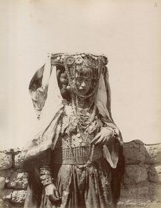 nostalgerie:  Femme du Djelfa, Algeria