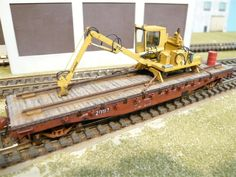 Ontario Northland MOW Flatcar 2092 | Model Railroad Hobbyist magazine | Having fun with model trains | Instant access to model railway resources without barriers