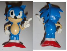 Sonic The Hedgehog Vintage Official RARE Collectible Trading Figure Sonic | eBay
