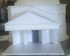 Maquete Panteão esc.: 1/200 por Lis Santuchi
