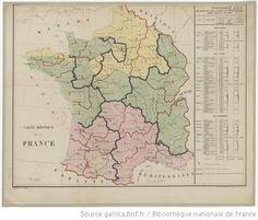 Carte hippique de la France - 1