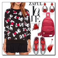 """""""www.zaful.com/?lkid=8105  no. 43 / II"""" by esma178 ❤ liked on Polyvore featuring NIKE, polyvoreeditorial and zaful"""