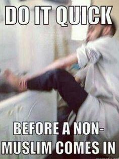 Bwahahahahahaha! So true! A little halal humour for our blessed Ummah!