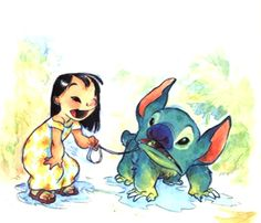 Lilo & Stitch Concept Art