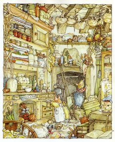 Brambly Hedge - These wonderfully illustrated books are great for children, I remember them from growing up so cute!