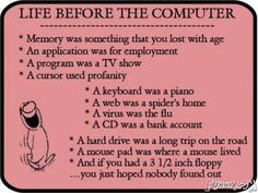 This would be funny except most people now don't even know what a 3.5 in floppy is or why it's called a floppy...geez just made myself feel old.