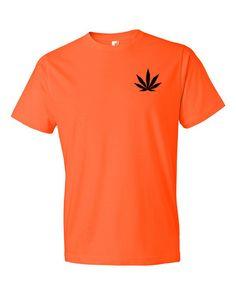 Marijuana Cannabis Leaf Short sleeve unisex t-shirt